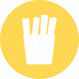 chips, french, french fries, fries, potatoes icon