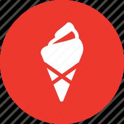 cone, cornet, ice cream, icecream, summer icon