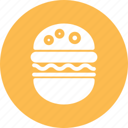 burger, fast food, hamburger, sandwich icon