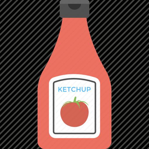 Ketchup bottle, tomato sauce, sauce, ketchup, catsup icon