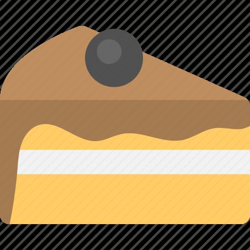 bakery item, cake, chocolate, delicious food, sponge cake icon
