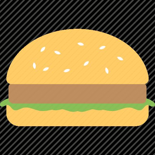 Burger, fastfood, hamburger, meal, junkfood icon