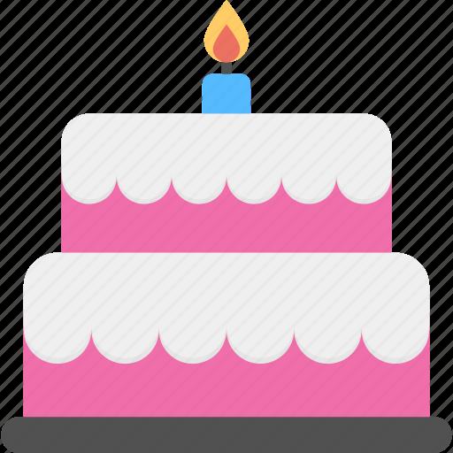 bakery, birthday cake, celebration, dessert, food, sweet icon