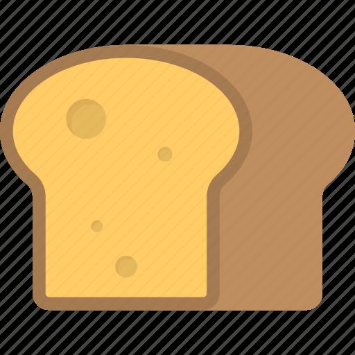 bakery item, bread, breakfast, diet, food icon