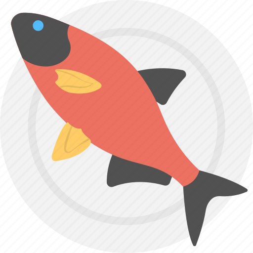 Food, healthy food, fish, seafood, meat icon