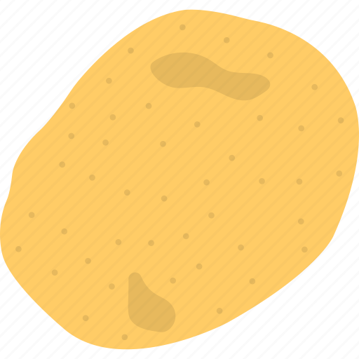 healthy diet, organic food, potato, uncooked meal, vegetable icon