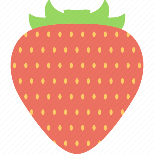 food, fruit, healthy diet, nutrition, strawberry icon