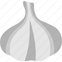 allium sativum, cooking ingredient, food, garlic, spice icon