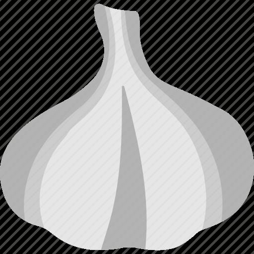 allium sativum, cooking ingredient, food, garlic, spice icon