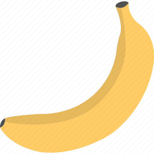 banana, food, fruit, healthy diet, organic diet icon