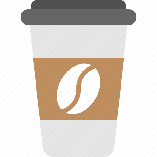 beverage, cold coffee, disposable, espresso, takeaway food icon