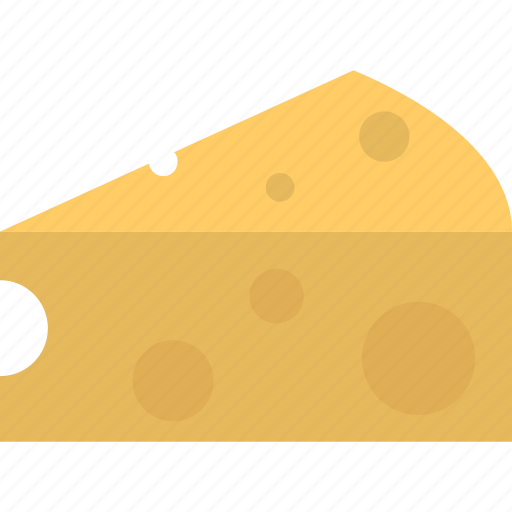 cheese piece, dairy, food, mozzarella cheese, nutrition icon