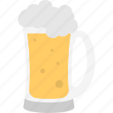 alcohol, beer mug, champagne, chilled beer, drink icon