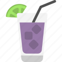 cocktail, lemonade, margarita, martini, nectar icon