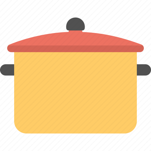 cooking pan, cooking pot, cookware, kitchenware, utensil icon