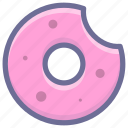 bread, donuts, food, vegetable icon