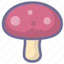 cooking, food, mushroom, sweet icon