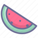 food, fruit, gastronomy, watermelon icon