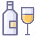 alcohol, drink, guzzle, liquor, spirits, wine icon