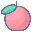 apple, food, fruit, vegetable icon