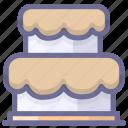birthday cake, bread, cake, holiday icon