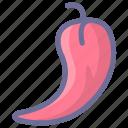 chilli, hot, pick, popular icon