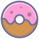 bread, cake, donuts, food icon