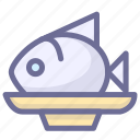 fish, food, meat, sweet, vegetable icon