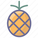 food, fruit, pineapple, vegetable icon