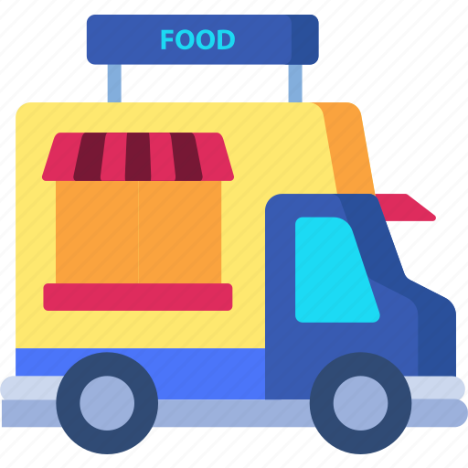 Delivery, food, live, truck icon - Download on Iconfinder