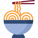 food, junk-food, noodles icon