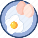 egg, food, omlet icon
