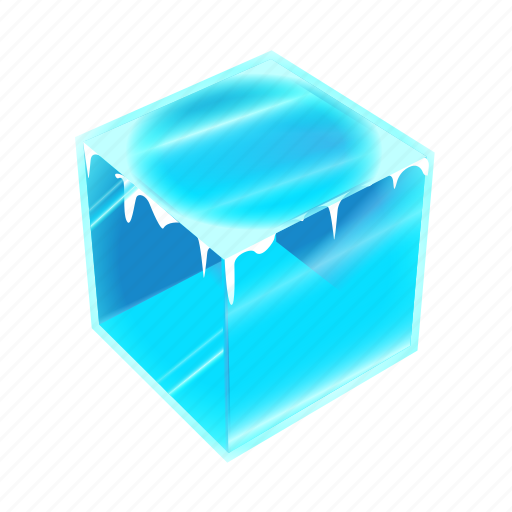 Cold, cube, ice, solid, water, weather, winter icon - Download on Iconfinder