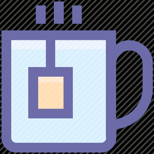 Coffee, cup, hot coffee, hot tea, mug, tea icon - Download on Iconfinder