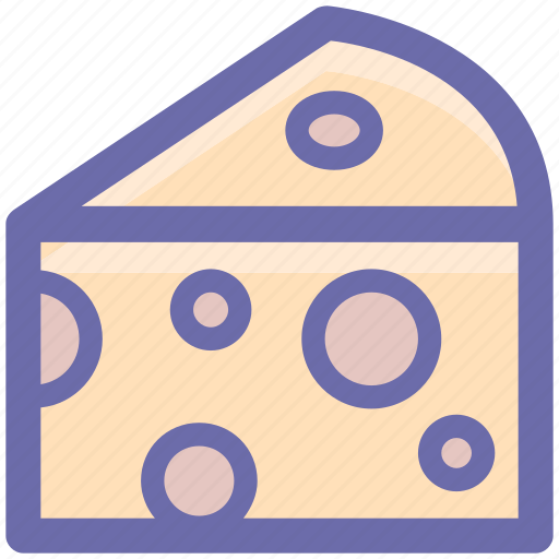 Breakfast, cheese, eat, edam, food, slice, swiss icon - Download on Iconfinder