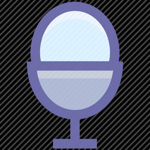 boiled, egg, egg cup, egg holder, egg server, egg storage, food, wgg icon