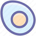 breakfast, egg, fried, omelet, scramble, scramble egg icon