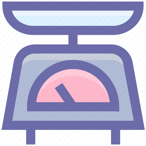 Equipment, kitchen, kitchenware, scale, weight icon - Download on Iconfinder