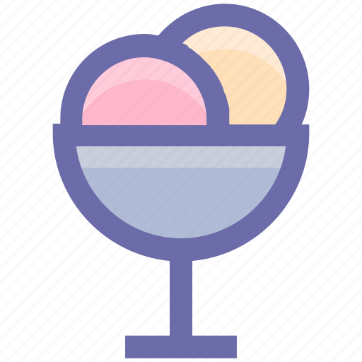 Cold, cream, dessert, food, ice cream, ice cream cup icon - Download on Iconfinder