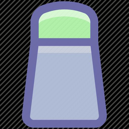 Food, pepper, pepper shaker, pouring salt, salt, salt shaker, spice icon - Download on Iconfinder