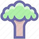 broccoli, cooking, eating, flower, food, green, green flower, nature, salad, vegetable