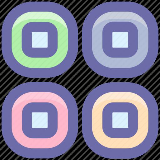 Dinner, eating, food, japanese food, maki, rolls, set icon - Download on Iconfinder