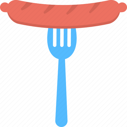 cooked barbecue, grilled sausage, junk food, meal, meat icon