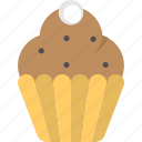 bakery, cupcake, dessert, muffin, sweet food icon