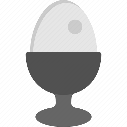 boiled egg, breakfast, healthy diet, natural nourishment, protein food icon