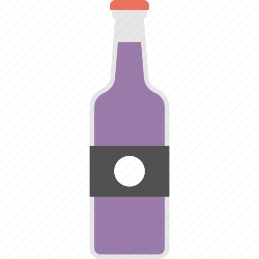 Beer, beverage, alcohol, wine bottle, champagne icon