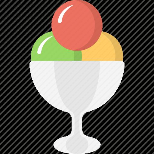dessert, food, frozen food, ice cream, sweet icon