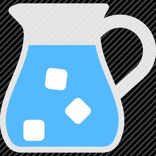 beverage, cold drink, juice jug, lemonade pitcher, lime water icon