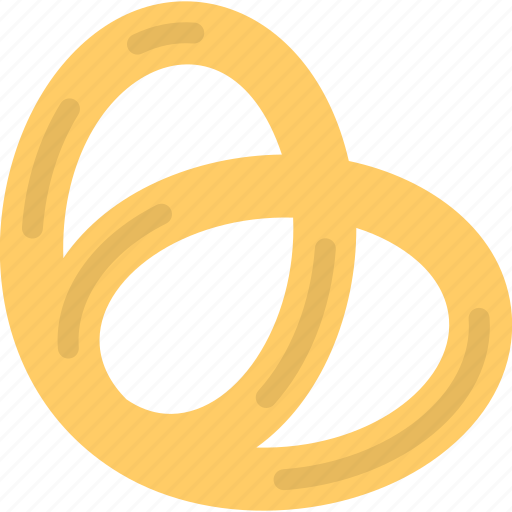 baked bread, bakery item, german food, pastry product, pretzel icon