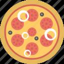 fast food, junk food, meal, pepperoni pizza